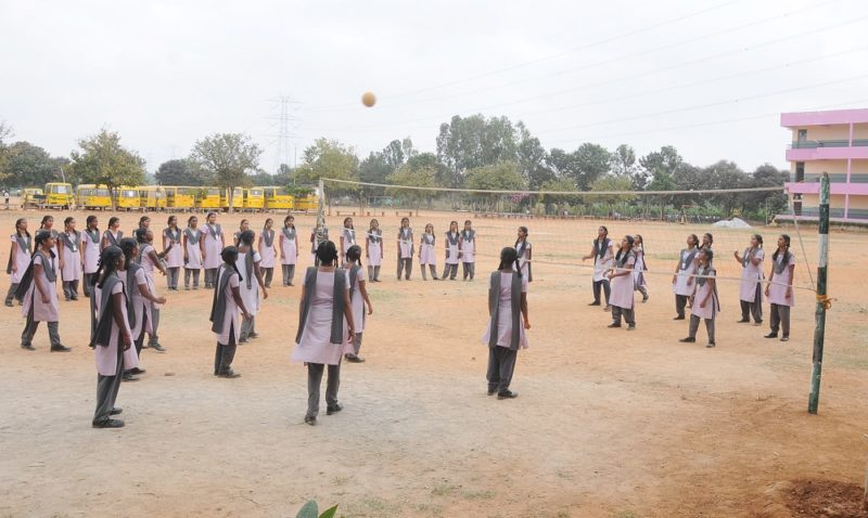 GVPS-Throwball Court
