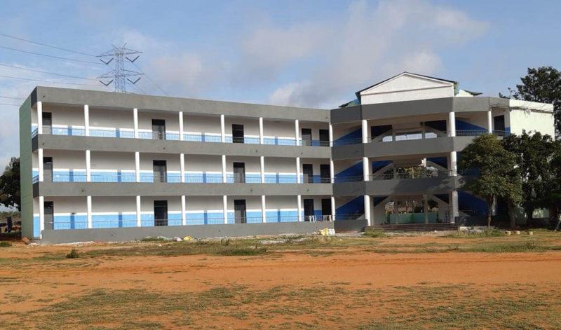 Inauguration of High School Building