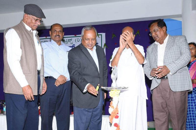 Justice Nagmohan das Inaugurating High School Building function