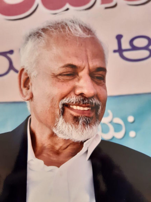 Prof. K R Sreenivasan