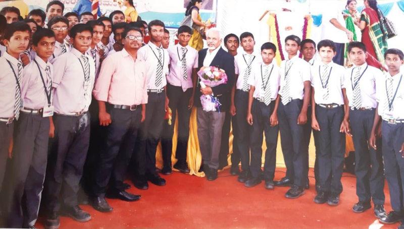 Prof. K R Sreenivasan at GVPS