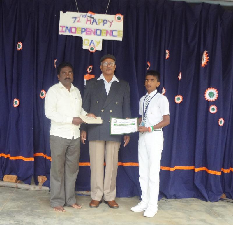 Prof. T. Markandananda Merit scholarship 2018