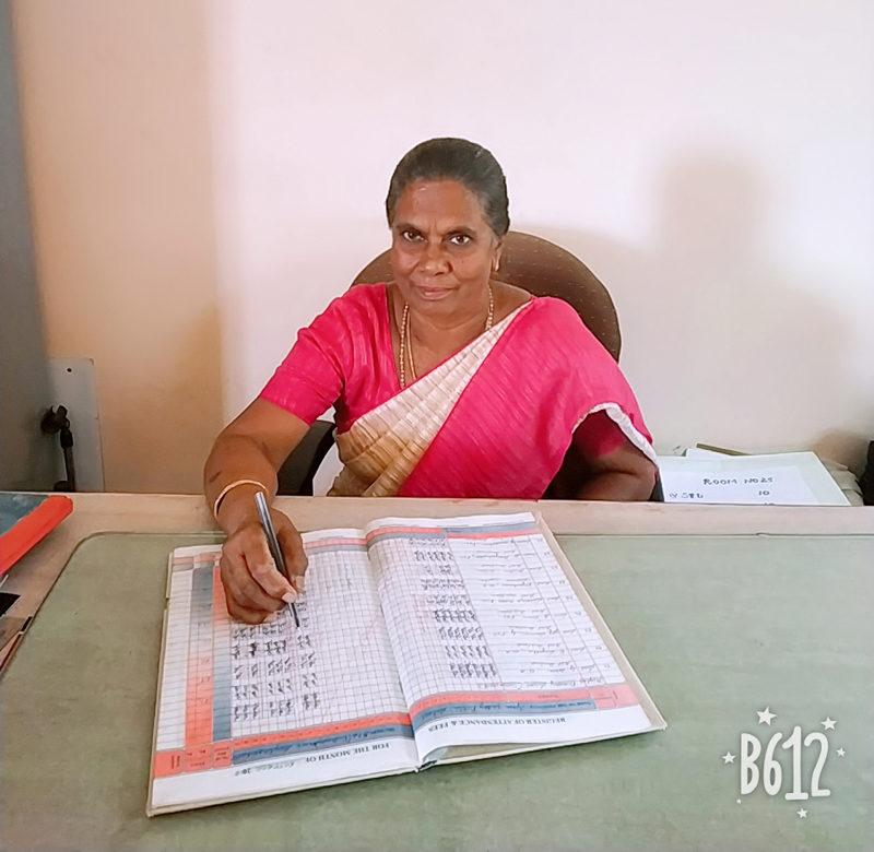 Ms. D. Gnanamani Mano Maral BA,Tch Head Mistress(Hr.Pry School)